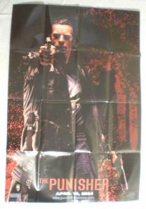 PUNISHER Promo Poster, Thomas Jane, Movie, 2004, Unused, more in our store