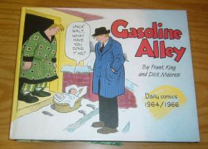Gasoline Alley HC VG frank king - dick moores - dailies 1964-1966 - hardcover