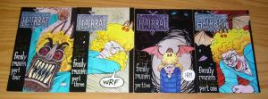 Hairbat: Family Reunion #1-4 VF/NM complete story - signed by david zapanta