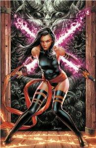 Hellions #1 Jay Anacleto Exclusive Psylocke VIRGIN Variant Marvel