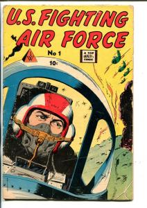 U.S. FIGHTING AIR FORCE #1-DOUBLE PEDIGREE-WAR-SOUTHERN STATES-vg
