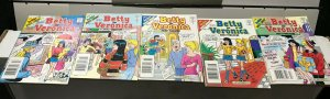 BETTY and VERONICA DIGEST MAGAZINE LOT of 5 Early-Mid 2000's FINE! #5