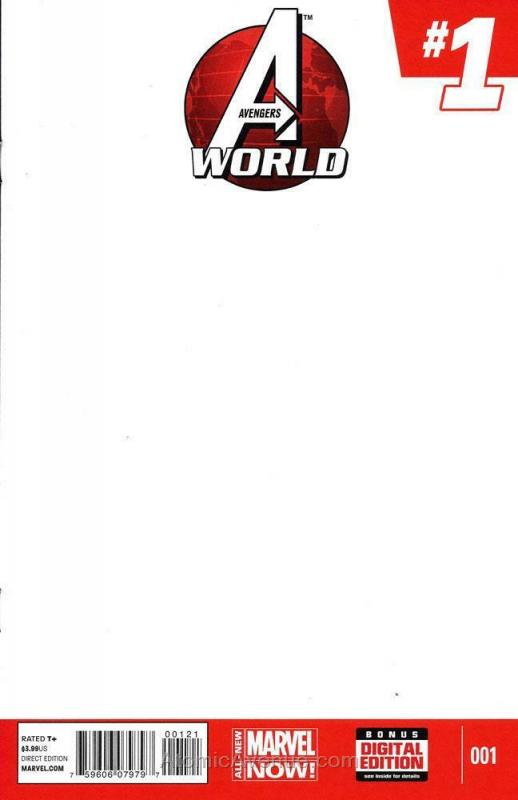 Avengers World #1A VF/NM; Marvel | save on shipping - details inside