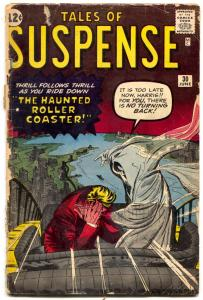 Tales Of Suspense #30 1962-marvel-haunted Roller Coaster-kirby-ditko- F/G