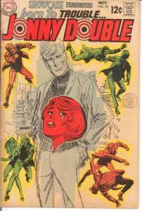 SHOWCASE 78 VG JOHNNY DOUBLE   November 1968 COMICS BOOK