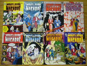 Wolff & Byrd Counselors of the Macabre/Supernatural Law #1-45 VF/NM complete+mor