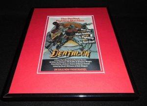 Deathlok 1996 Marvel Framed 11x14 ORIGINAL Advertisement