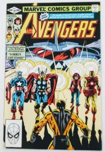 AVENGERS #217 Yellowjacket vs The Avengers High Grade Marvel