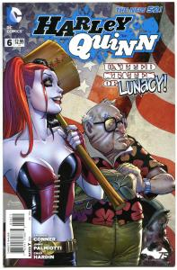HARLEY QUINN #6, VF/NM, Amanda Conner, Jimmy Palmiotti, 2014, more HQ in store
