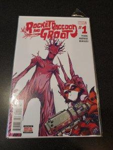 Rocket Raccoon & Groot #1 (2016)