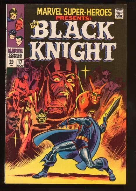 Marvel Super-Heroes (1967 series) #17, Fine+ (Actual scan)
