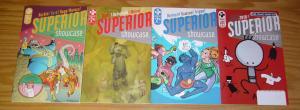 Superior Showcase #0 & 1-3 VF/NM complete series - farel dalrymple/nick bertozzi
