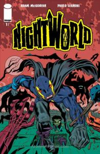 Nightworld #1 VF; Image   save on shipping - details inside