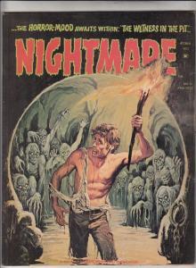 Nightmare Magazine #11 (Feb-73) VF+ High-Grade