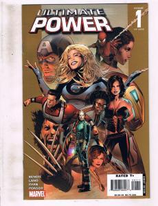 Lot of 3 Ultimate Power Marvel Comic Books #1 2 3 AK8