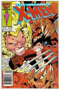 X MEN 213 VF-NM Jan. 1987 COMICS BOOK
