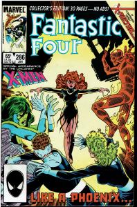Fantastic Four #286, 9.0 or Better (4) *KEY* 2nd Appearance X-Factor