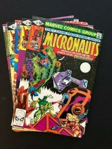 LOT of 5~MARVEL THE MICRONAUTS #25-29  1980/81 FINE/VERY FINE  (A182)