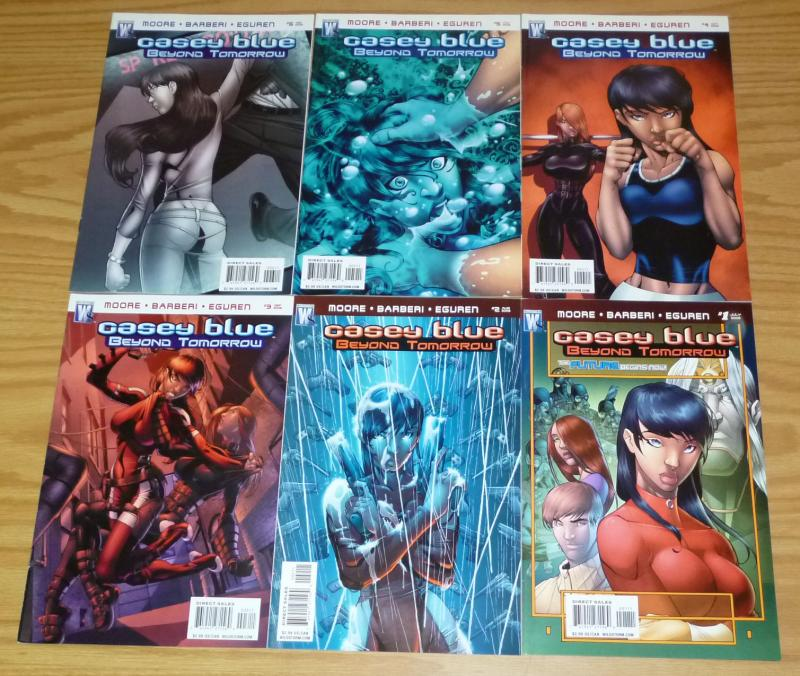 Casey Blue: Beyond Tomorrow #1-6 VF/NM complete series - wildstorm comics set