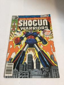 Shogun Warriors 1 Vf+ Very Fine+ 8.5