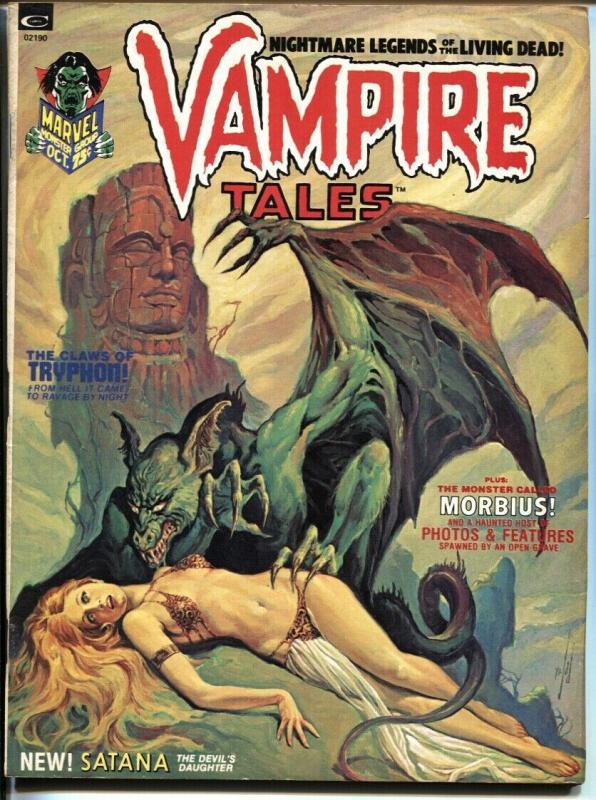 Vampire Tales #2 1973 First SATANA HELLSTORM FN