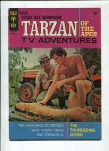 TARZAN #165 1967-GOLD KEY-EDGAR RICE BURROUGHS-FN