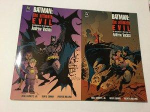 Batman: The Ultimate Evil 1 2 Near Mint Nm Prestige Dc