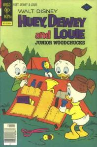 Huey, Dewey, and Louie Junior Woodchucks #49 FN; Gold Key | save on shipping - d