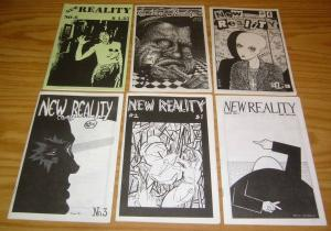New Reality #1-6 VF/NM complete set - colin upton - rare ashcan comics 2 3 4 5