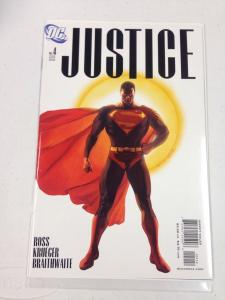 Justice #4 2nd print Alex Ross Cover HTF NM