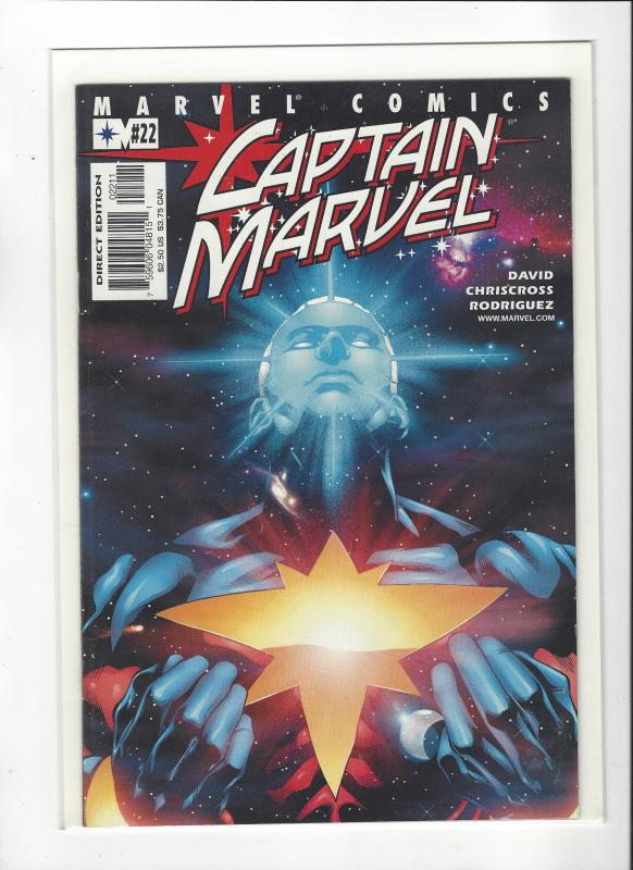 Captain Marvel #22 (2002) Peter David Marvel Comics NM