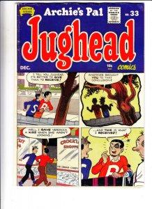 Jughead, Archie's Pal #33 (Dec-55) VG/FN+ Mid-Grade Archie, Betty, Veronica, ...