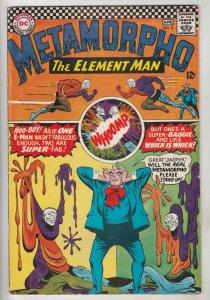 Metamorpho the Element Man #5 (Apr-66) VF+ High-Grade Metamorpho, Simon Stagg...