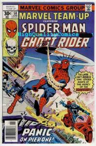MARVEL TEAM-UP #58, VF, Spider-Man, Ghost Rider, 1972, more in store