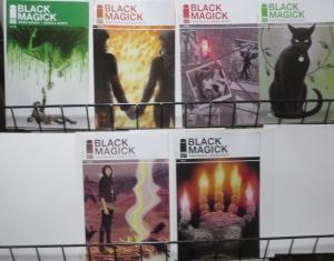 BLACK MAGICK (Image, 2015) #5,7-11! VF-NM Greg Rucka, Nicola Scott