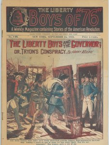 Liberty Boys of 1776 #820  From 1916!  Old time periodical!  Very Rare!