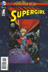 Supergirl: Futures End #1, NM + (Stock photo)