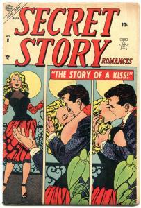 Secret Story Romances #8 1954- Vince Colletta- Atlas Golden Age FAIR