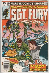 Sgt. Fury and His Howling Commandos #155 (Dec-78) FN/VF Mid-High-Grade Sgt. F...