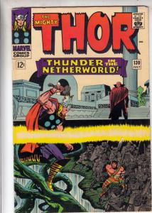 Thor, the Mighty #130 (Jul-66) FN+ Mid-High-Grade Thor, Hercules
