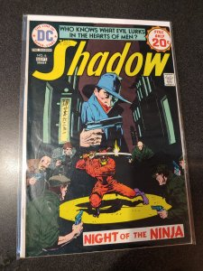 The SHADOW # 8 HIGH GRADE VF+ O'Neil Tale + Robbins Art!