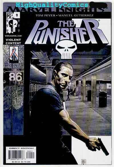 PUNISHER #9, NM+, Tim Bradstreet, 2001, Frank Castle, Blood, more in store