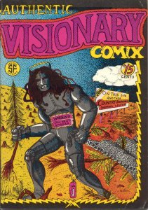 Authentic Visionary Comix #1 VF/NM; Prairie Tales   save on shipping - details i