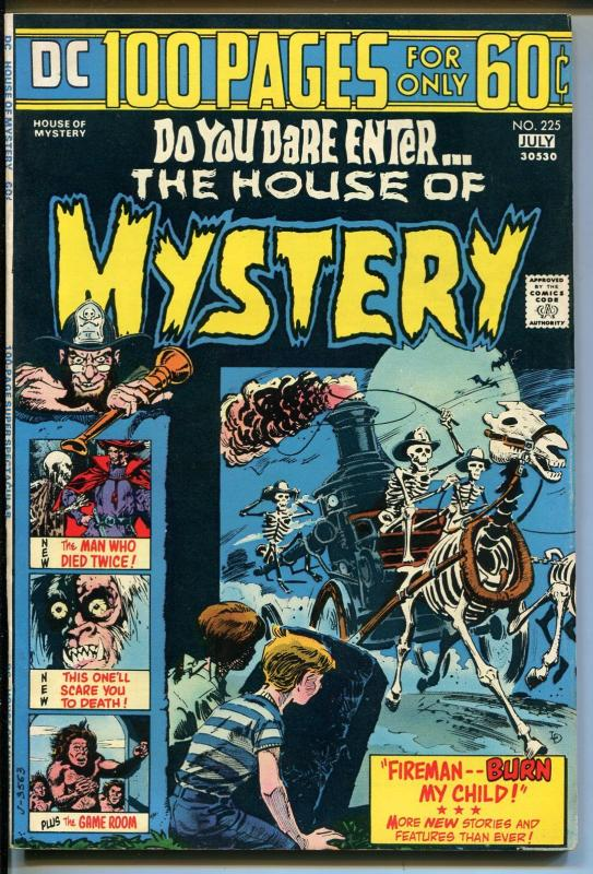 House of Mystery #275 1974-DC Comics-Giant issue-Phantom Stranger-Kirby-VF MINUS