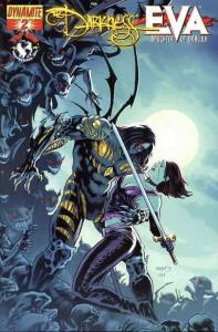 Darkness vs. Eva, The: Daughter of Dracula #2A VF; Dynamite | save on shipping -