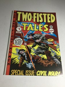 Two-fisted Tales 1 Nm- Near Mint- EC Classics Magazine