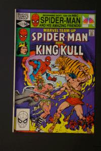 Marvel Team-Up #112 Spider-Man and King Kull December 1981