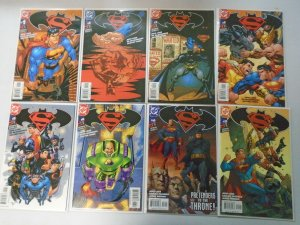 Superman Batman lot 20 different from #1-31 avg 8.0 VF (2003-06)