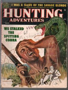 Hunting Adventures 9/1966-Atlas-snake attack-Rapahel de Soto-FR/G