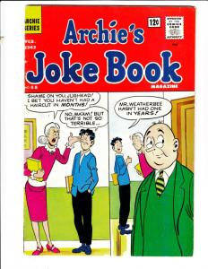 Archie's Joke Book #68 (Feb-63) VF+ High-Grade Archie, Betty, Veronica, Reggi...